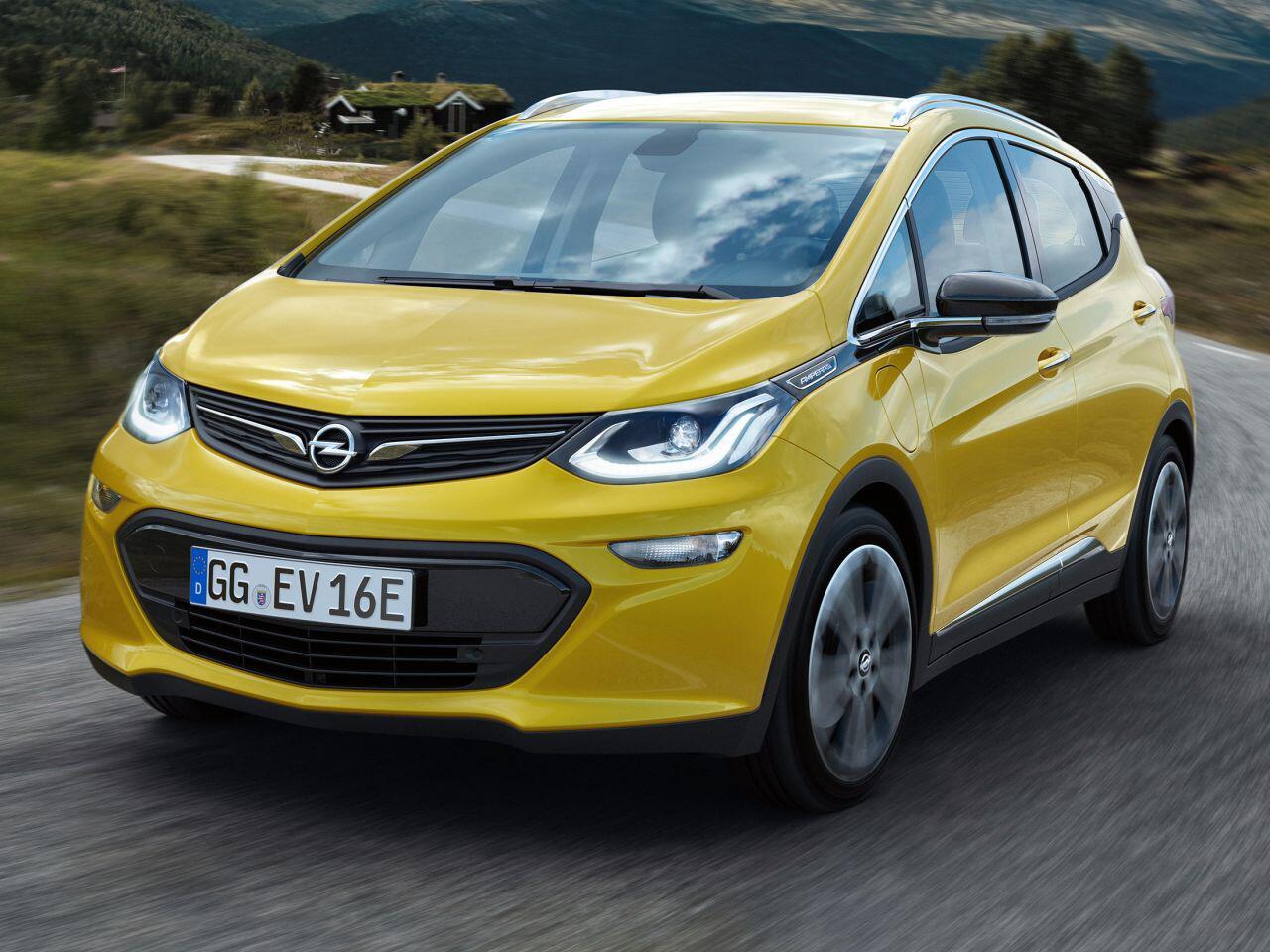 Bild zu Opel Ampera-e