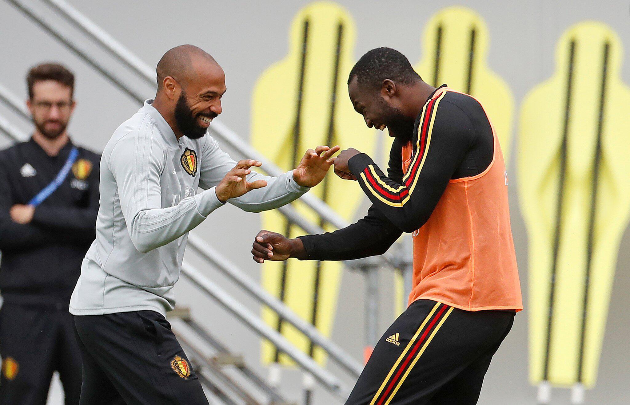 Bild zu WM 2018 - Belgien Training