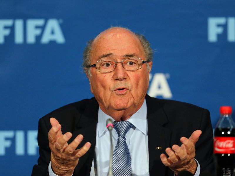 Bild zu FIFA-Boss