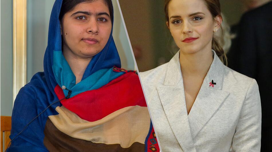Malala Yousafzai, Emma Watson