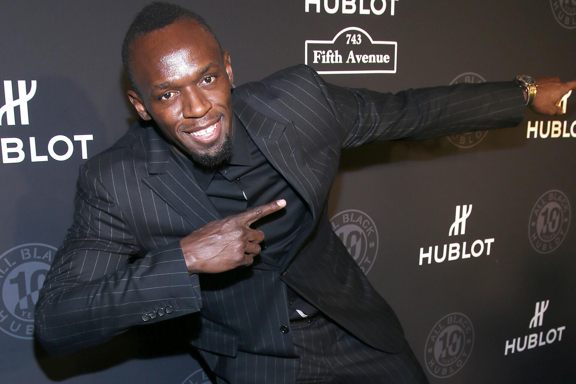 Bild zu Usain Bolt, Schauspieler, New York, Sportler