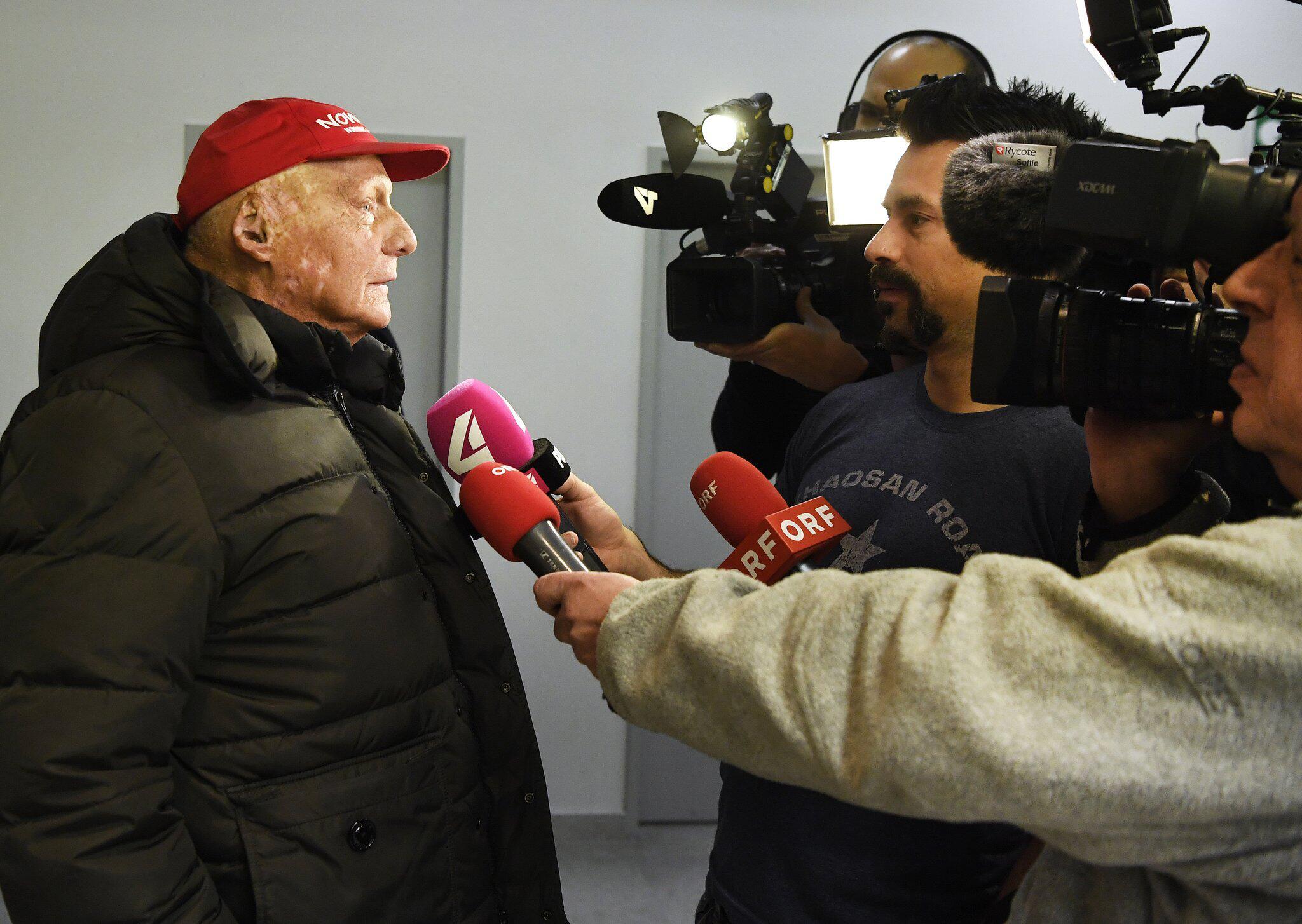 Bild zu Niki Lauda spricht zur Niki-Übernahme