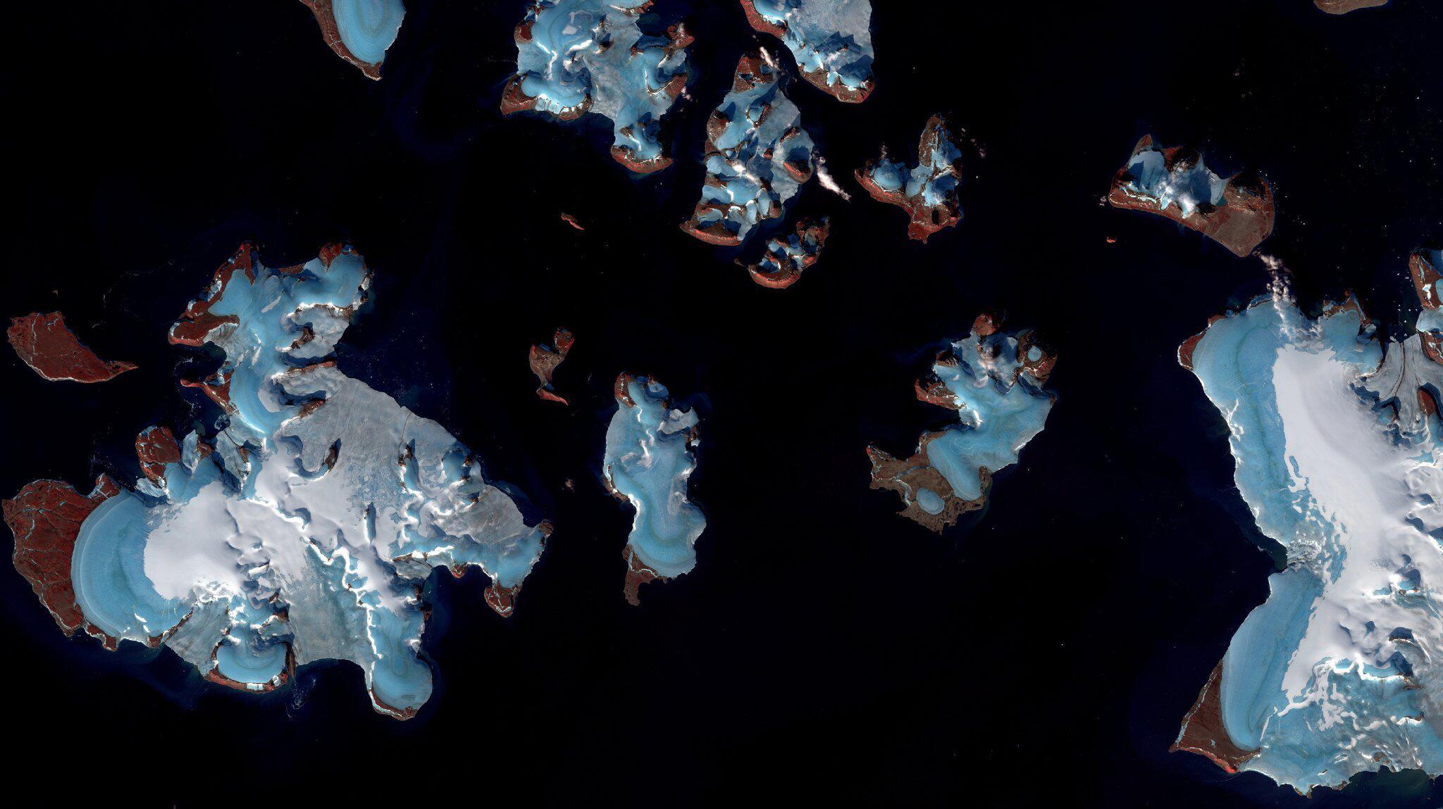 Bild zu Gletscher, Arktis