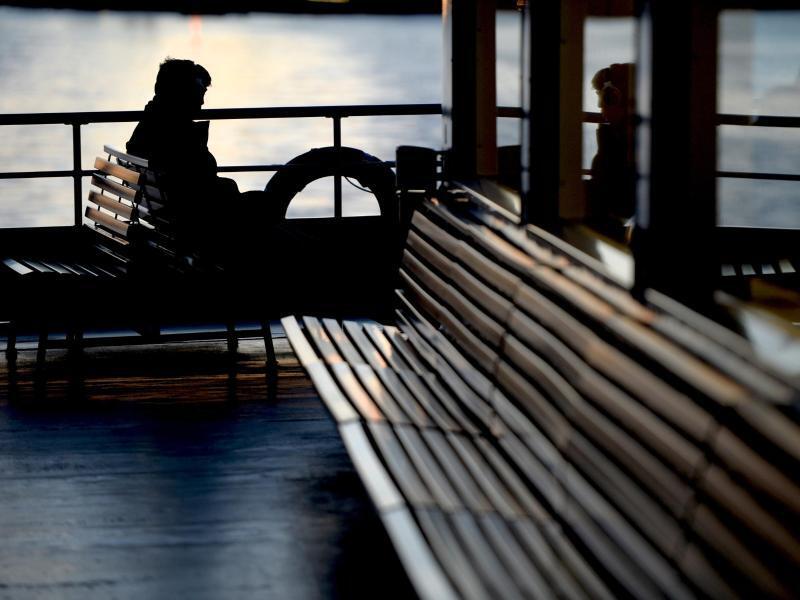 Bild zu Sonnenuntergang auf Deck