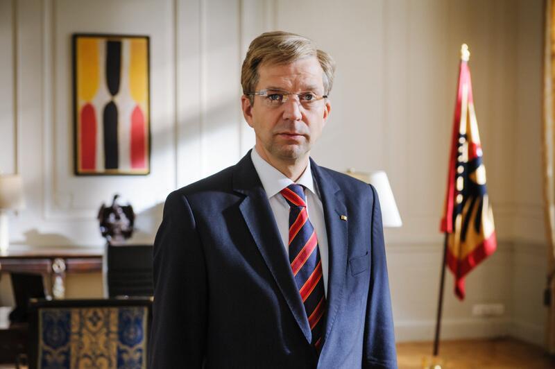 Bild zu Sat.1 zeigt Christian Wulffs Rücktritt