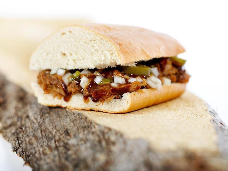 Bild zu Typisches Streetfood mit Fleisch
