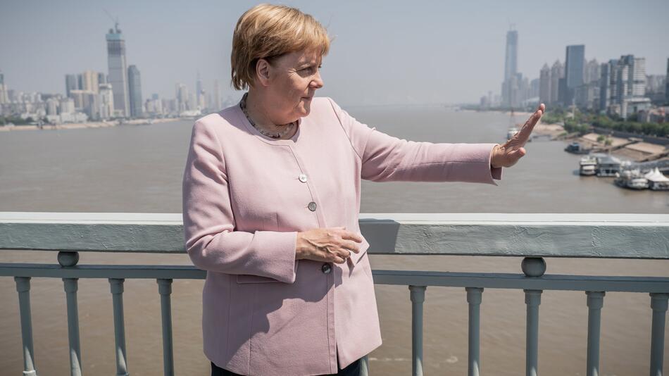 Chancellor Merkel in China