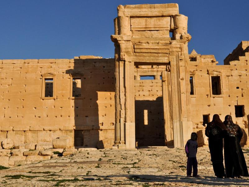 Bild zu Baaltempel in Palmyra