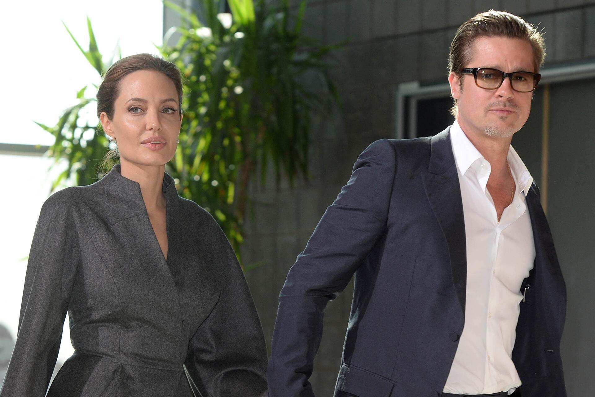Bild zu Brangelina, Scheidung, Grund, Angelina Jolie, Brad Pitt