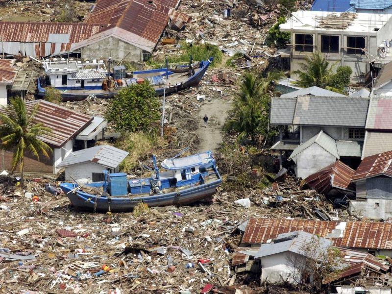 Bild zu Zerstörung in Sumatra