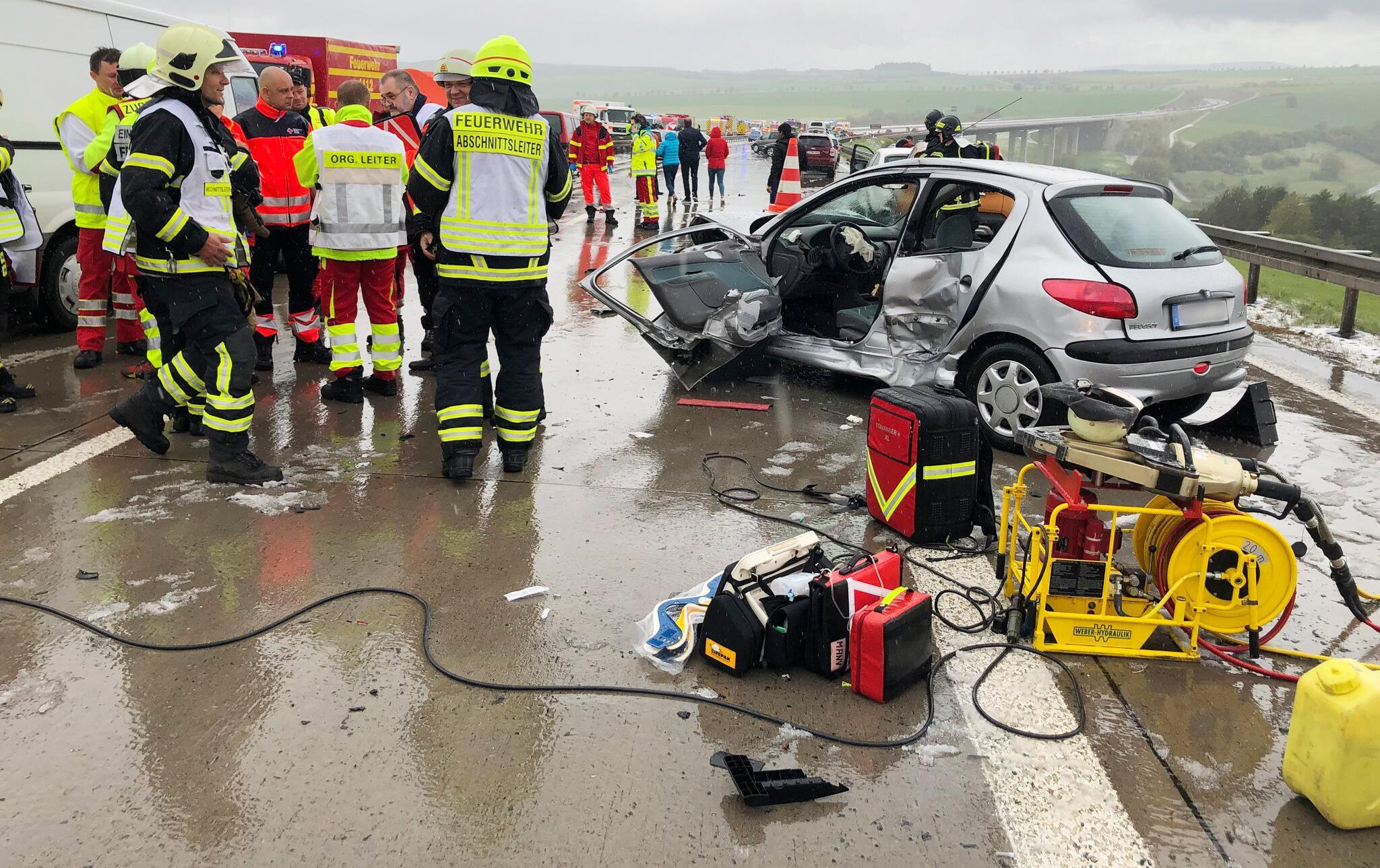 Bild zu Mass collision on A71