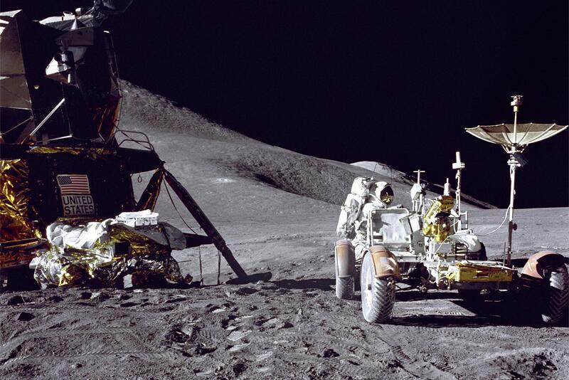 Weltraumtourismus- Vorstufe zu Sternreise.com? Apollo-15