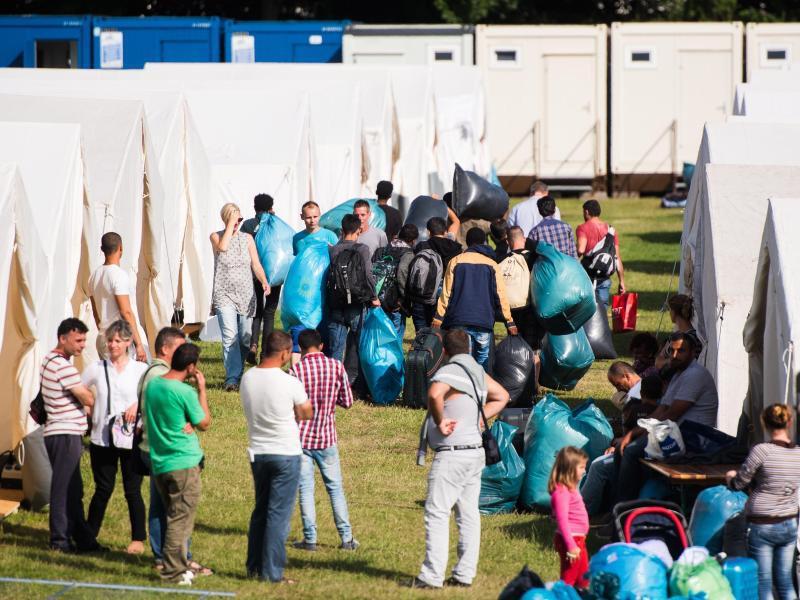 Bild zu Unterbringung von Flüchtlingen in Hamburg