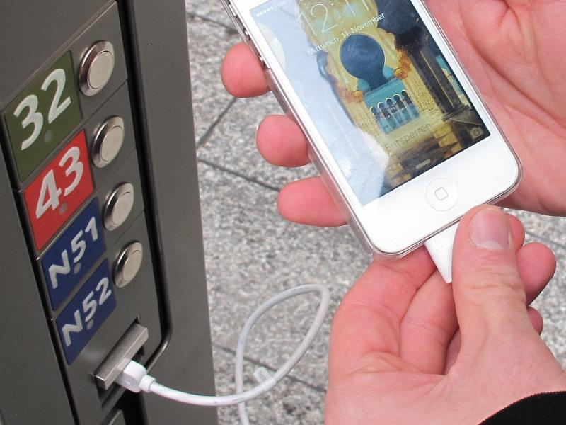 Bild zu USB-Ladestation