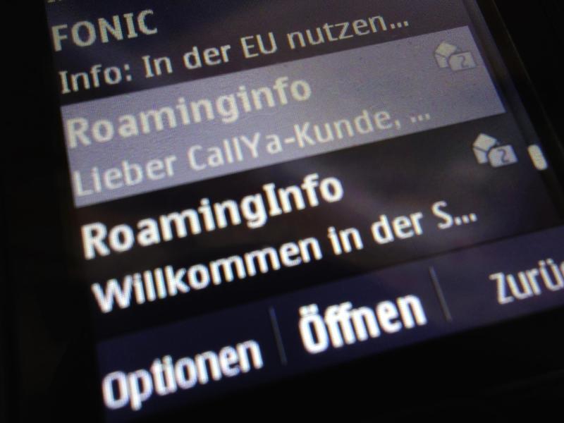 Bild zu Roaming-Gebühren