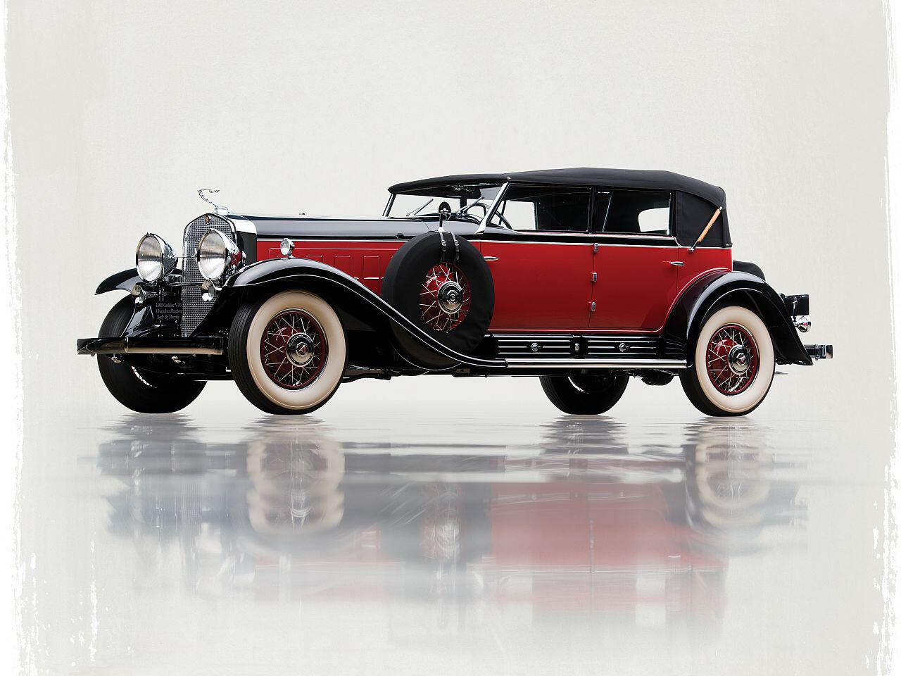 Bild zu Cadillac V-16 Convertible Sedan by Murphy von 1930