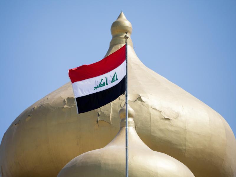 Bild zu Irakische Fahne