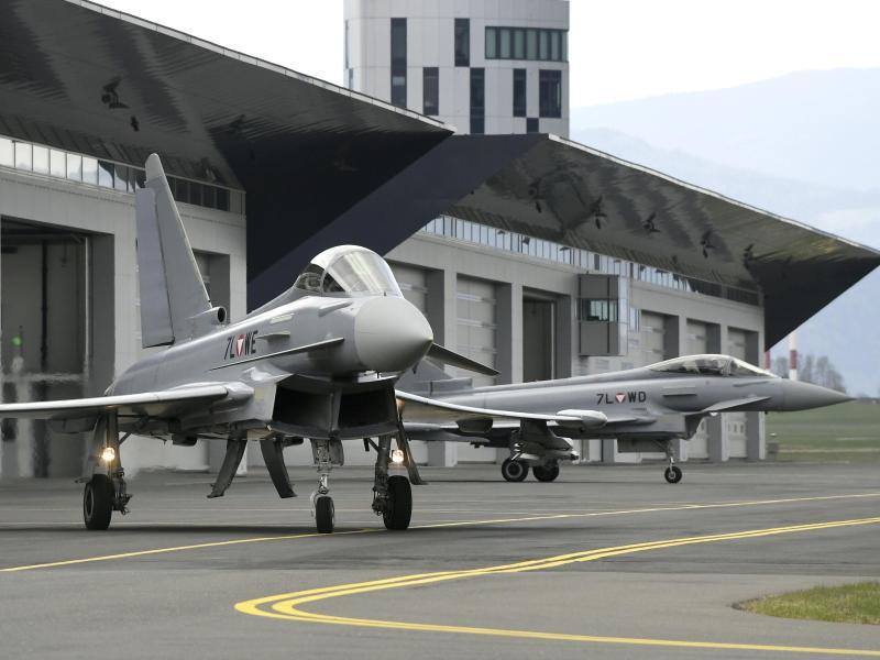 Bild zu Eurofighter in Österreich