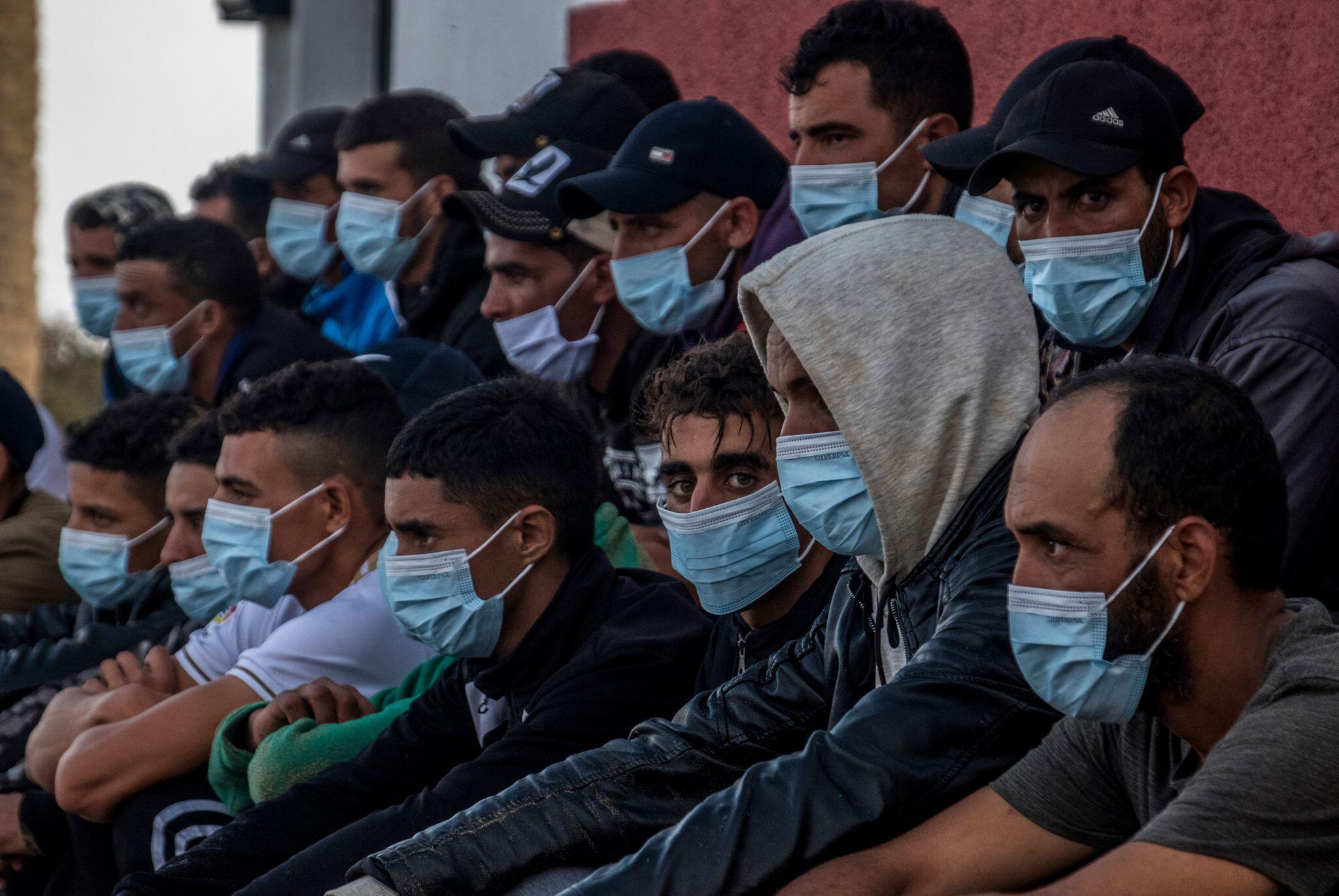 Bild zu Migranten auf den Kanaren
