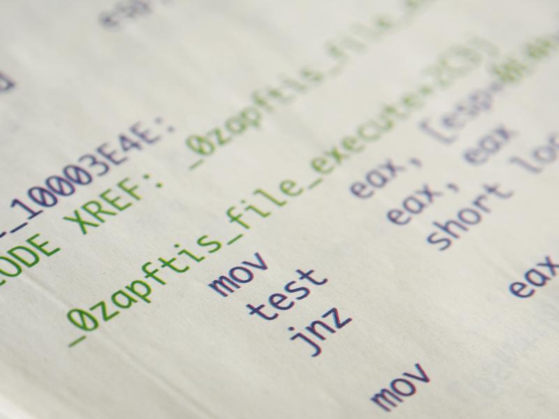 Bild zu Code von Spionage-Software