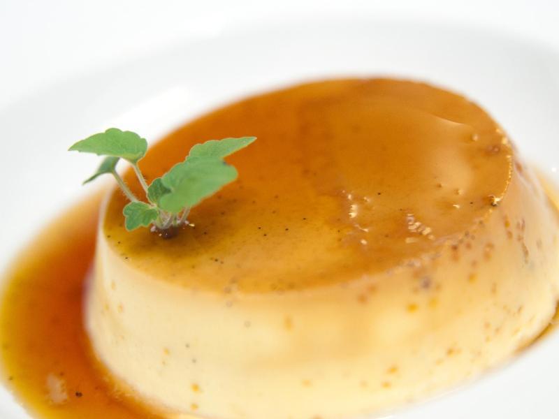 Bild zu Dessert mit Crème Caramel