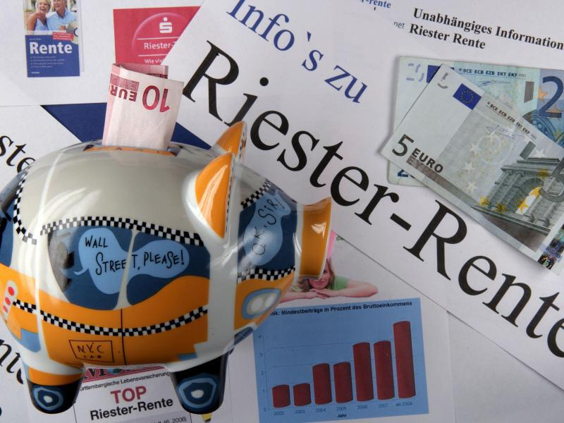 Bild zu Riester-Rente