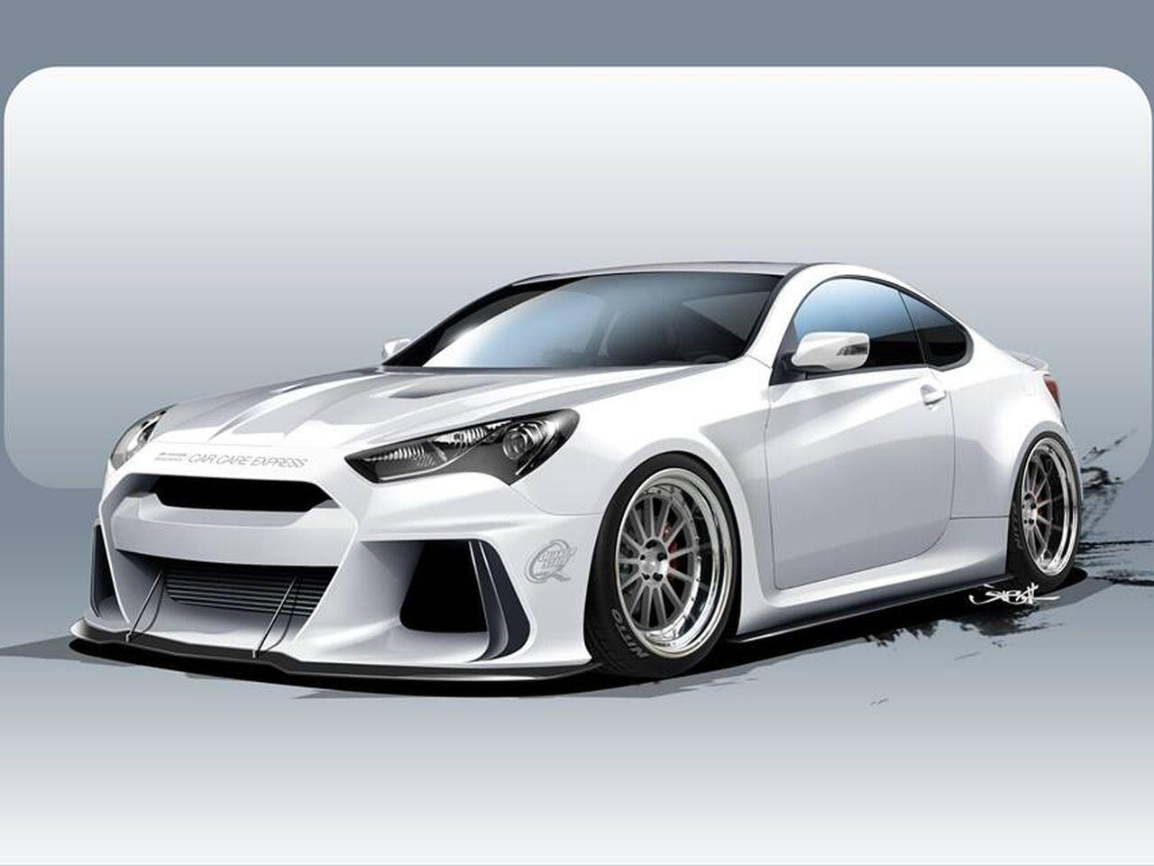 Bild zu Hyundai Genesis Coupé von Ark Performance