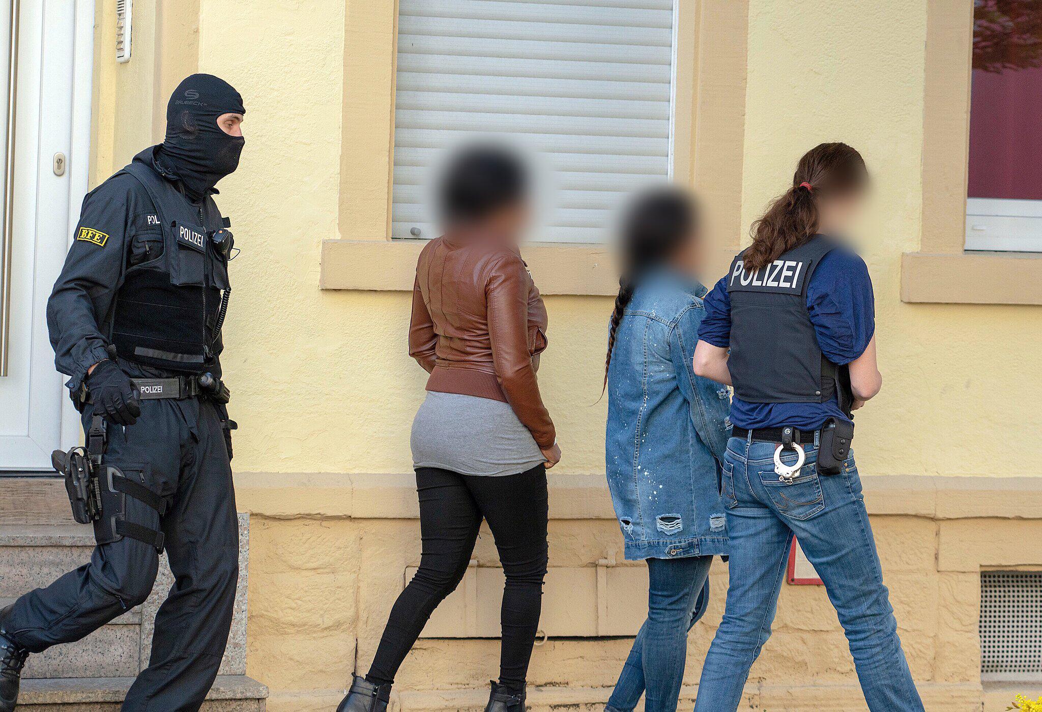 Bild zu Nationwide raid against organised crime