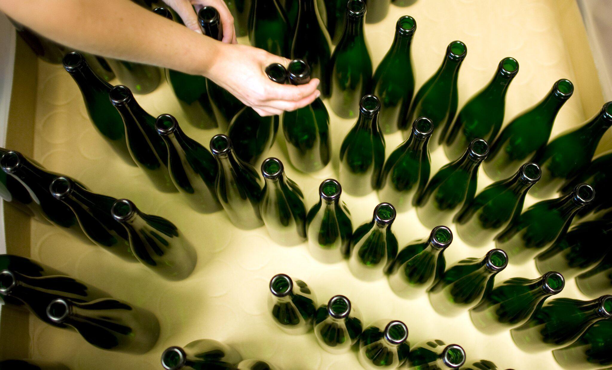 Bild zu Gute Ernte verursacht Engpass bei Weinflaschen
