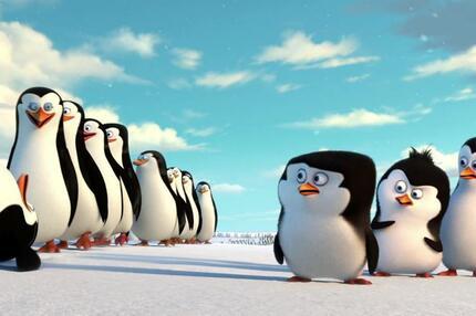 Die Pinguine aus Madagaskar