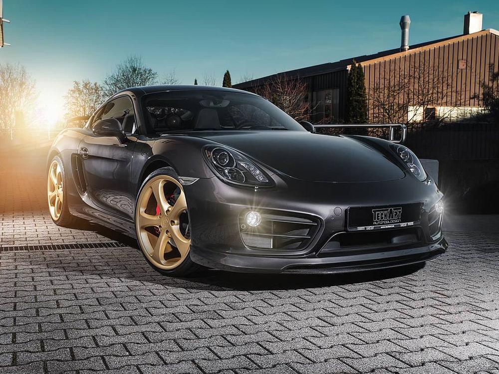 Bild zu Porsche Cayman von Techart