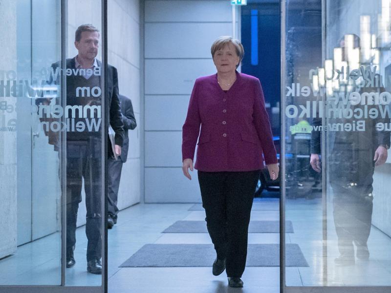 Bild zu Merkel beim ZDF