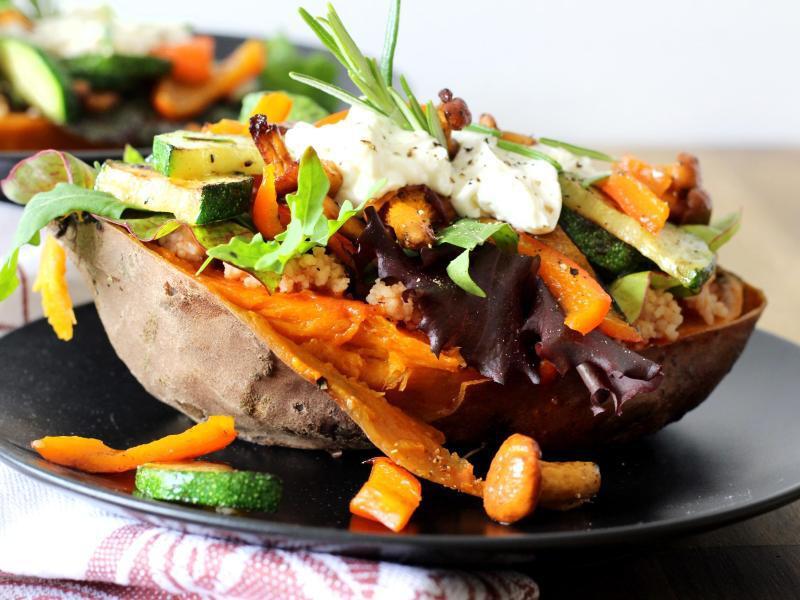 Bild zu Gebackene Süßkartoffel