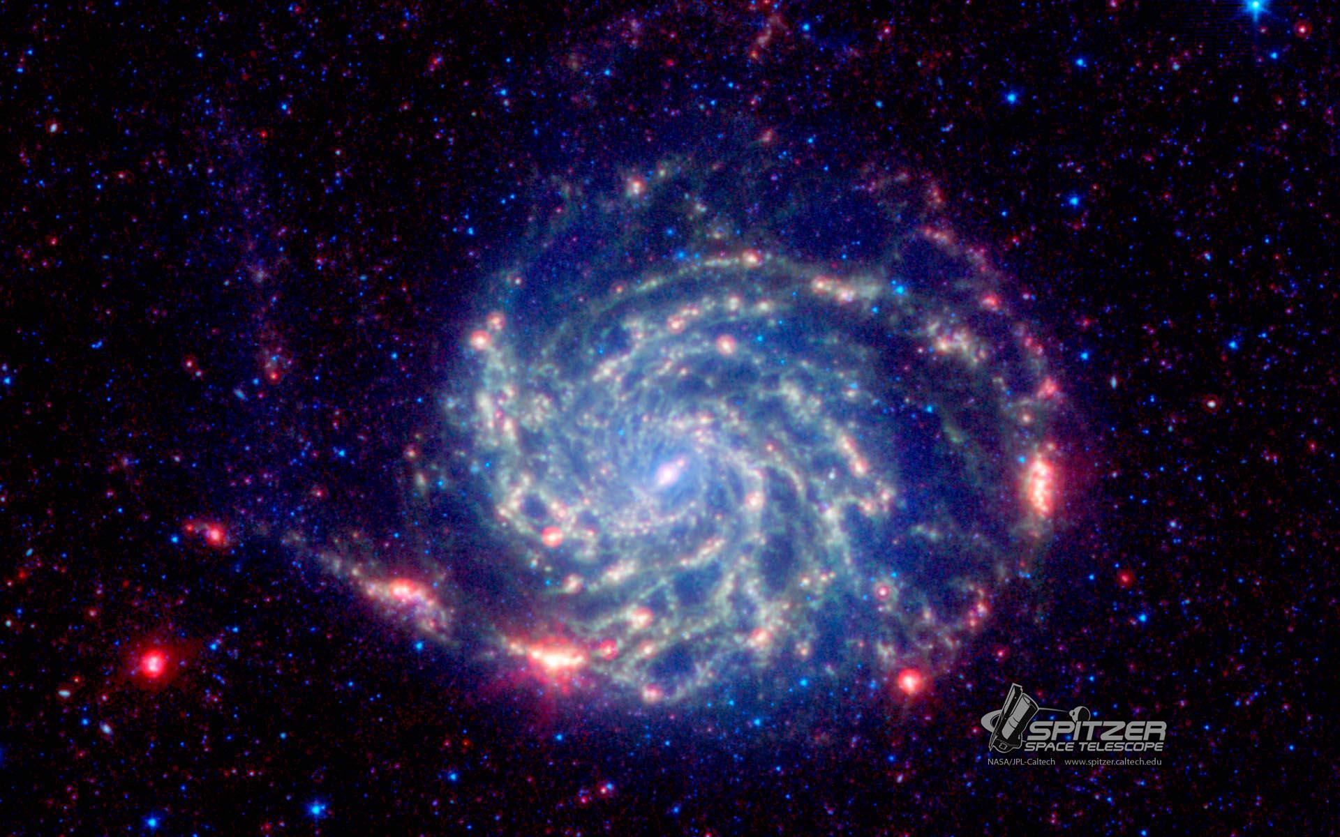 Bild zu Spiralgalaxie