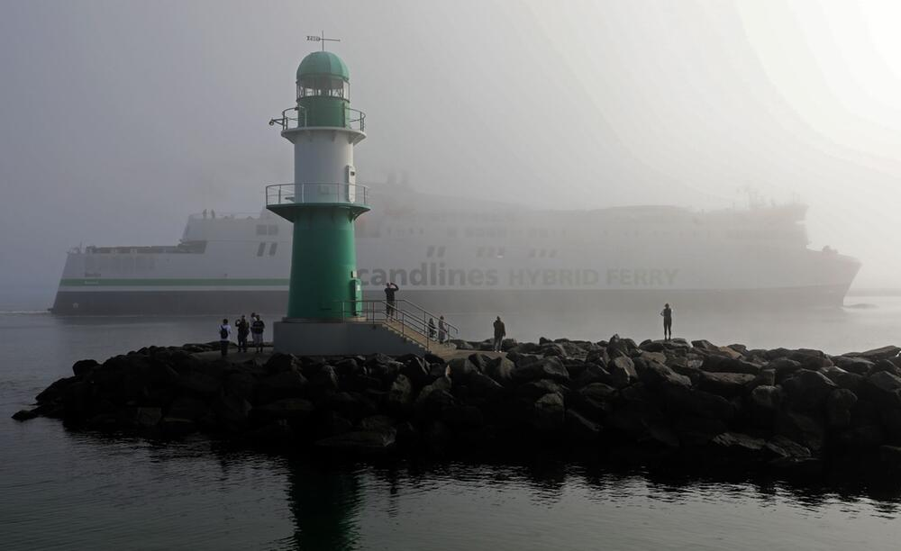 Nebel an der Ostsee