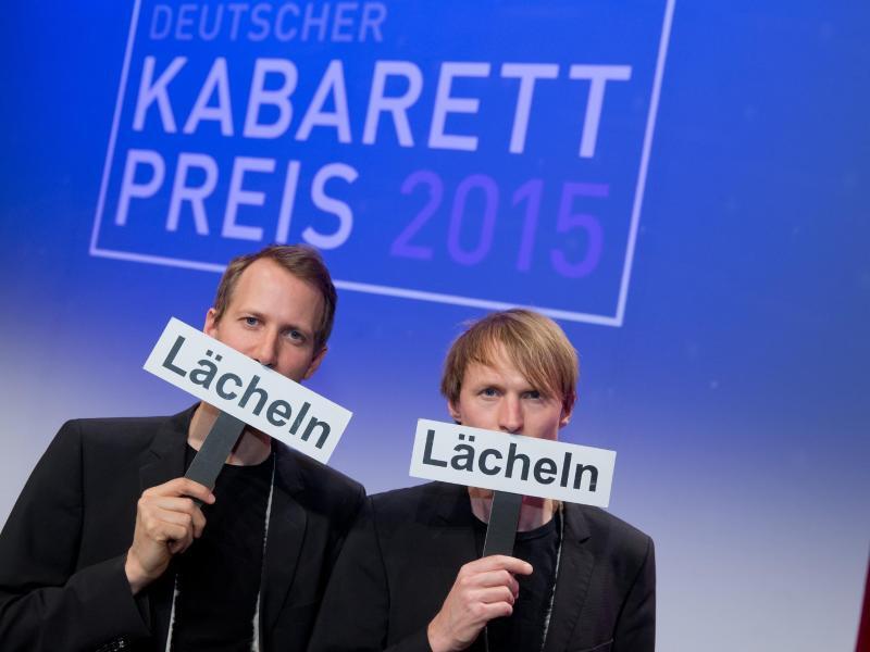 """Bild zu Deutscher Kabarett-Preis für Duo """"Ohne Rolf"""""""