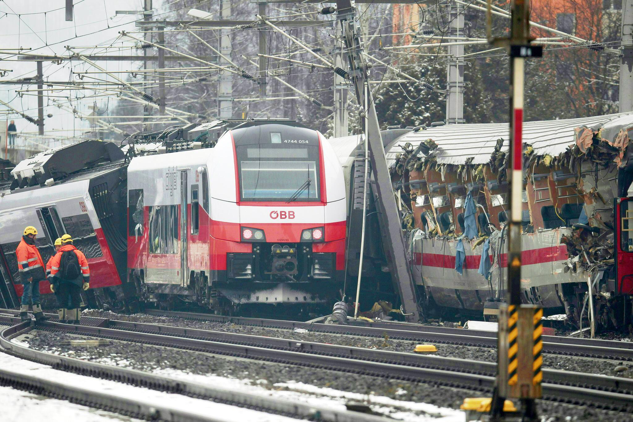 Bild zu Niklasdorf, Zugunglück
