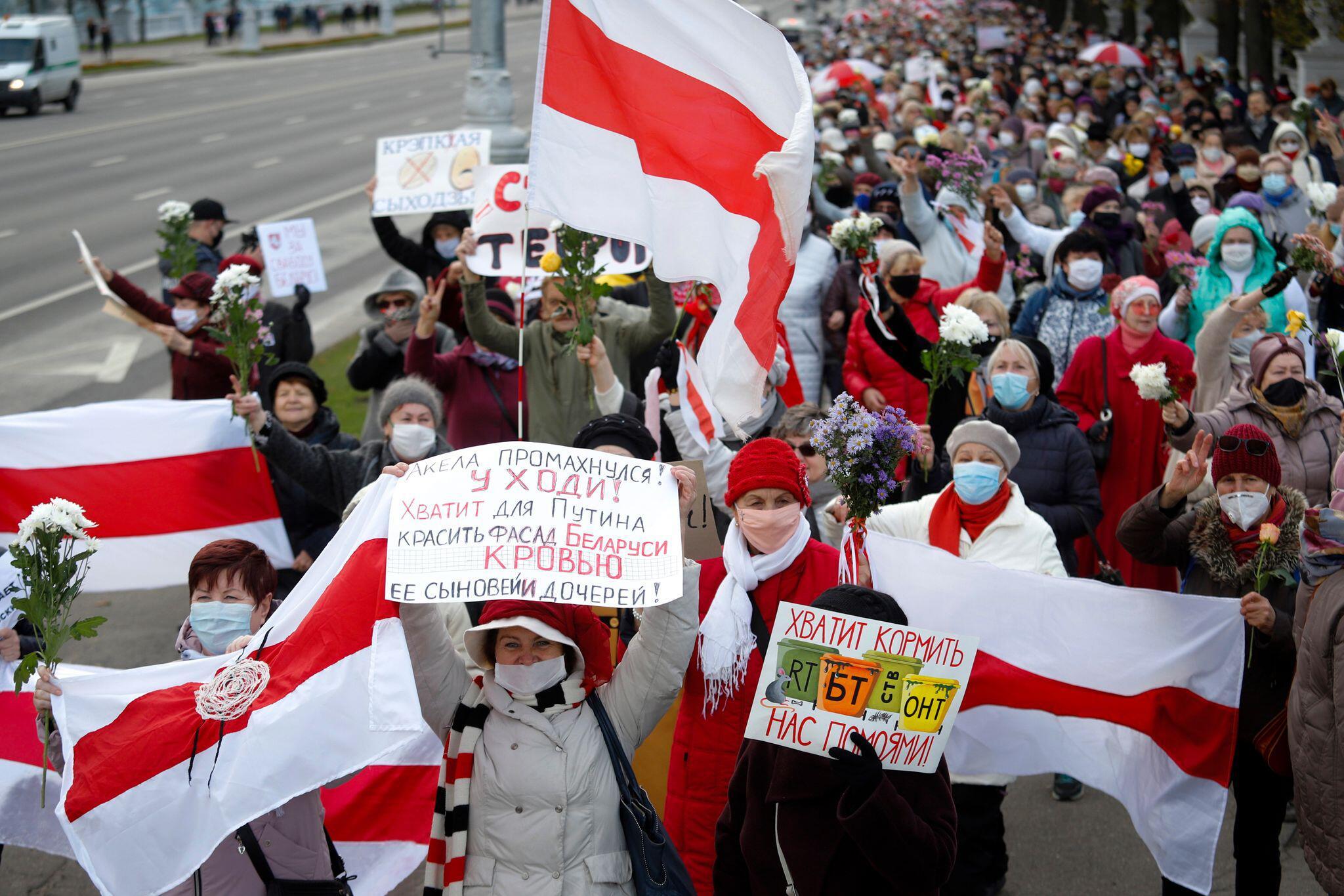 Sacharow-Preis für Belarussische Opposition
