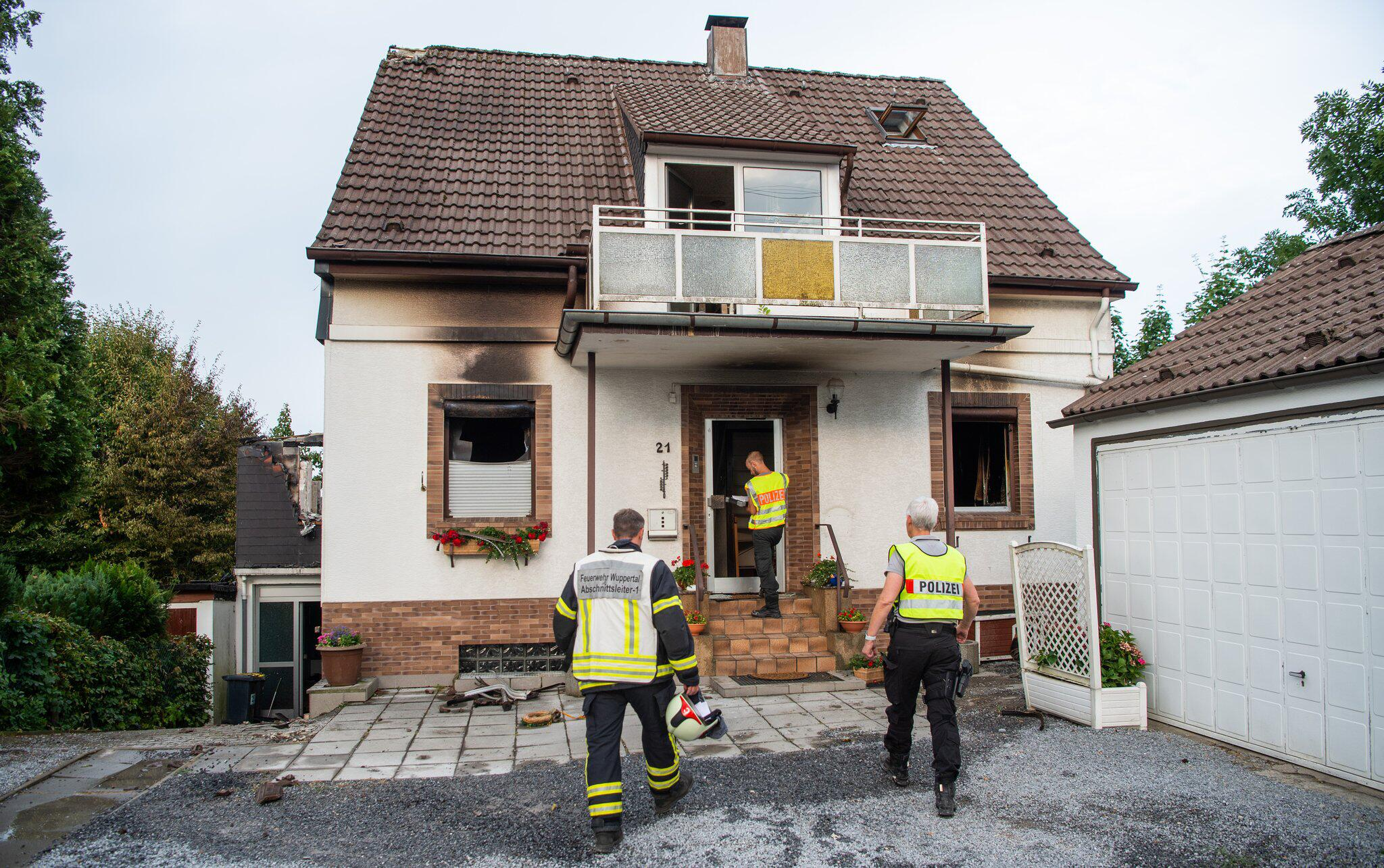 Bild zu House fire in Wuppertal