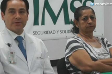 Mexikanische Ärzte entfernen 60-Kilo-Tumor.