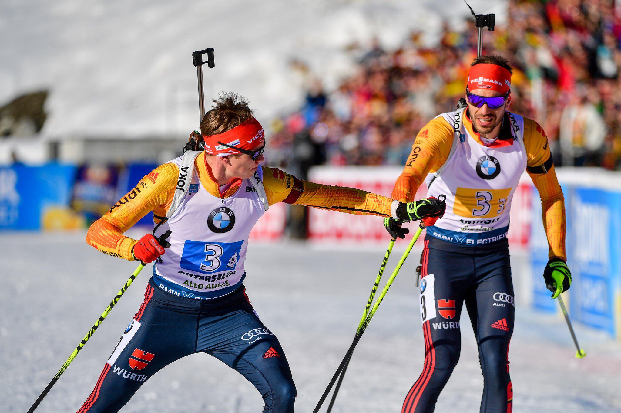 Bild zu Biathlon: Weltmeisterschaft/Weltcup