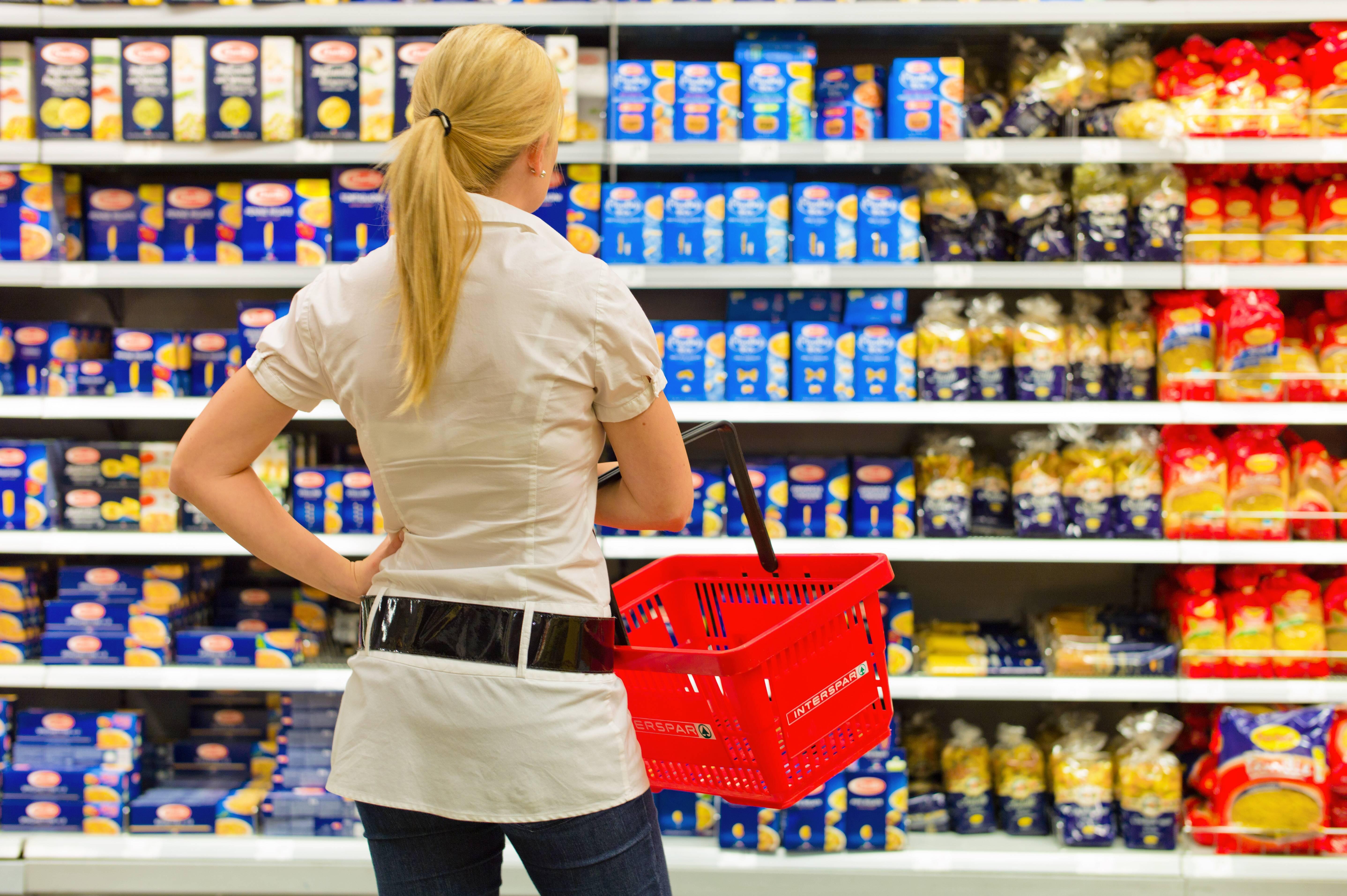 Bild zu Supermarktregal
