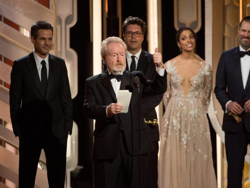 Bild zu Golden Globes - Ridley Scott
