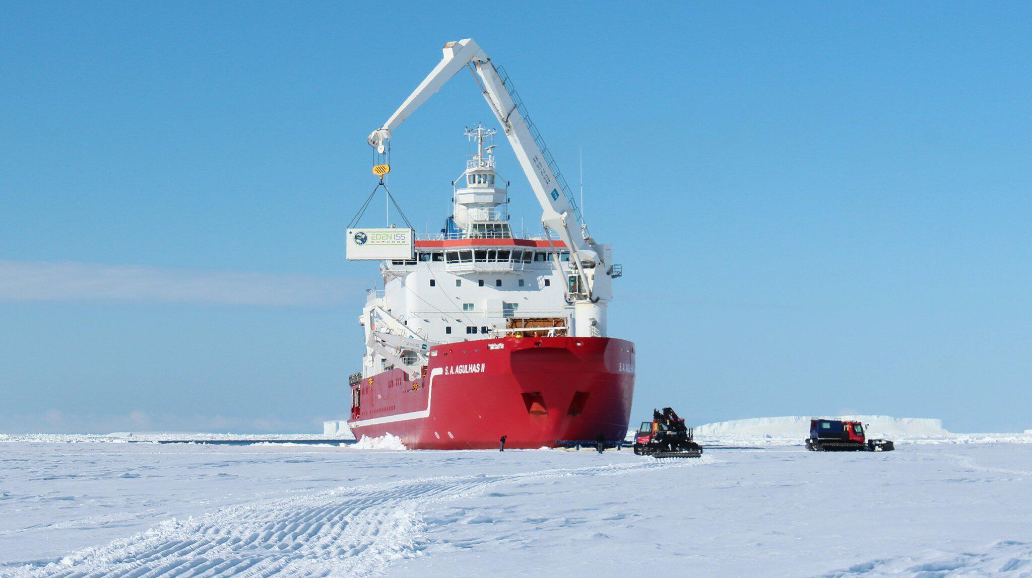 Bild zu Gewächshaus für die Antarktis