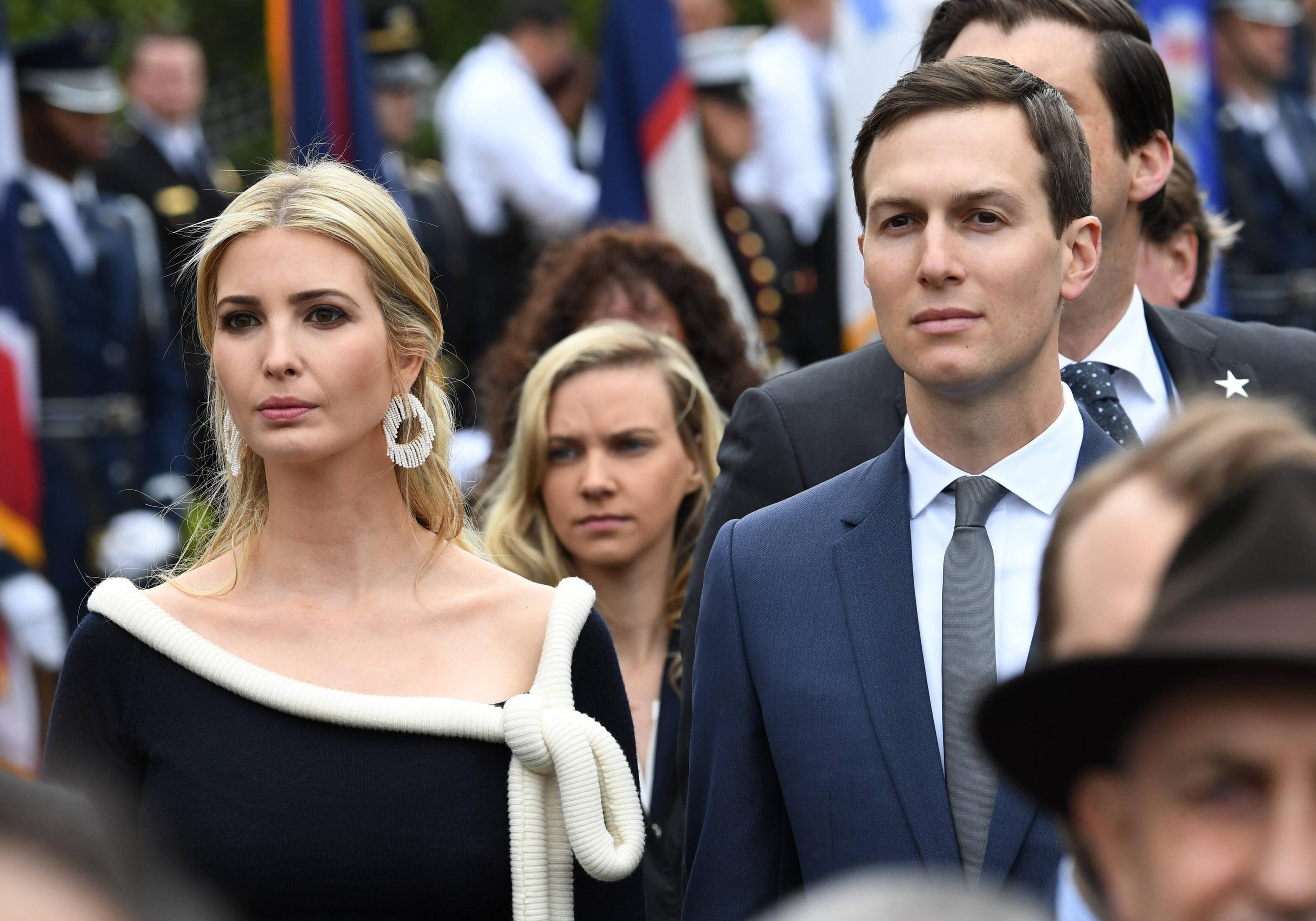 Bild zu Ivanka Trump, Jared Kusher, US, USA