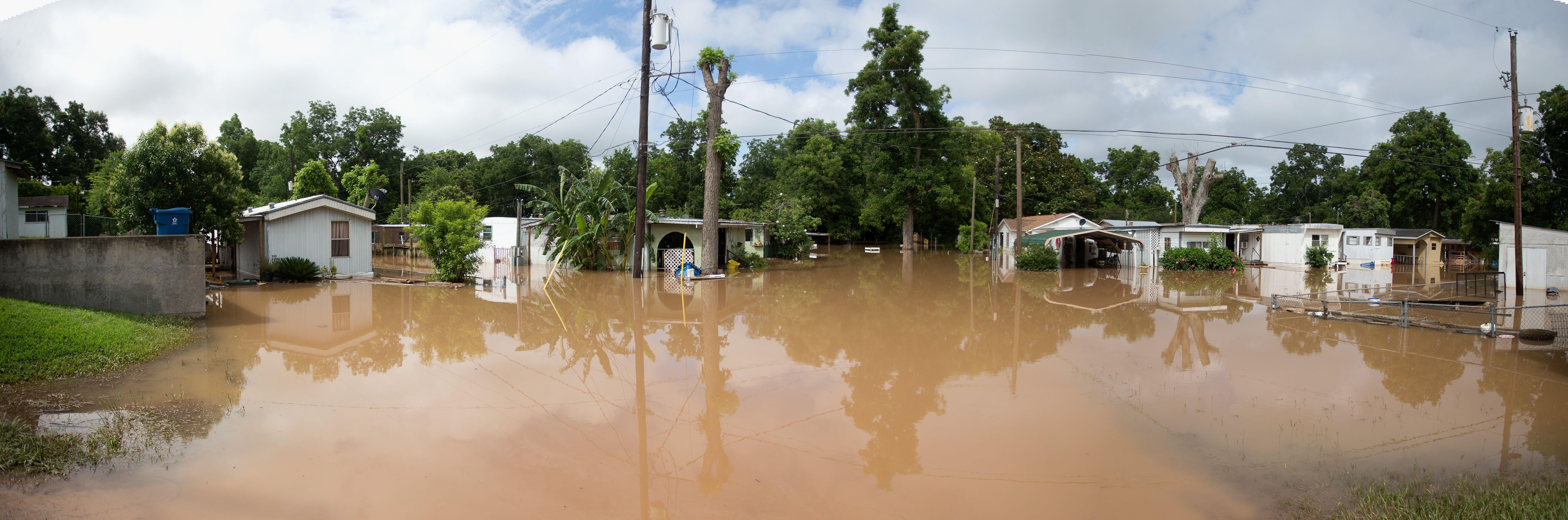 Bild zu Unwetter, Regen, USA, Texas