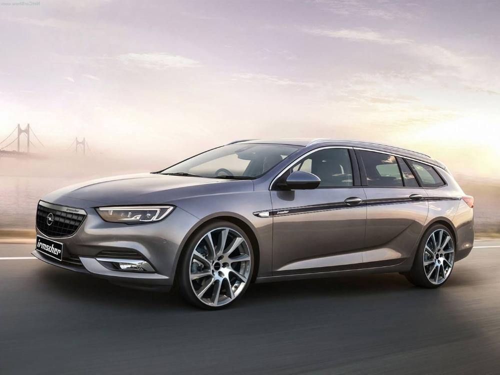 Bild zu Opel Insignia von Irmscher