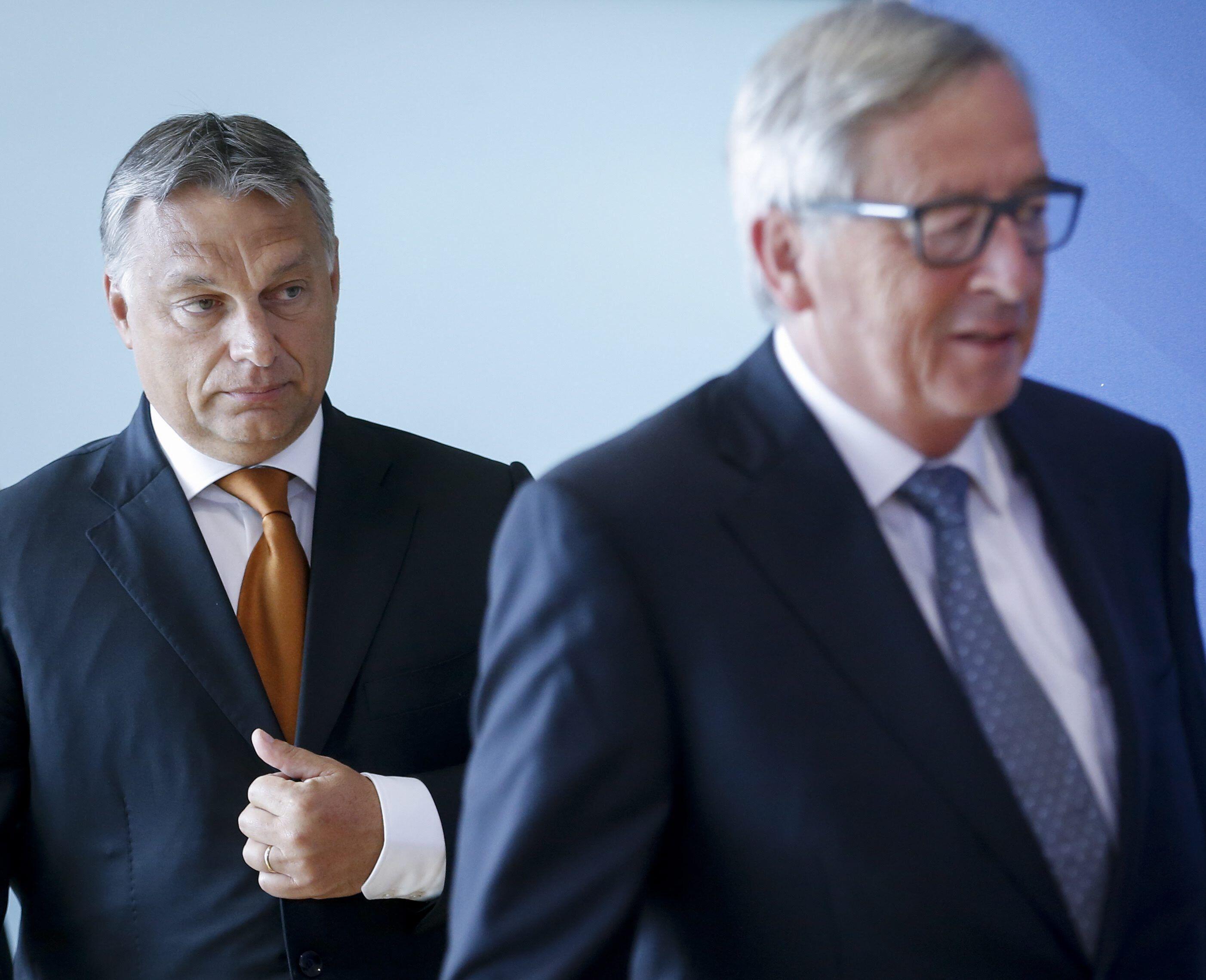 Bild zu Viktor Orbán, Ungarn, EU, Jean-Claude Juncker, Fidesz, EVP, Frank Engel, Migration, Luxemburg