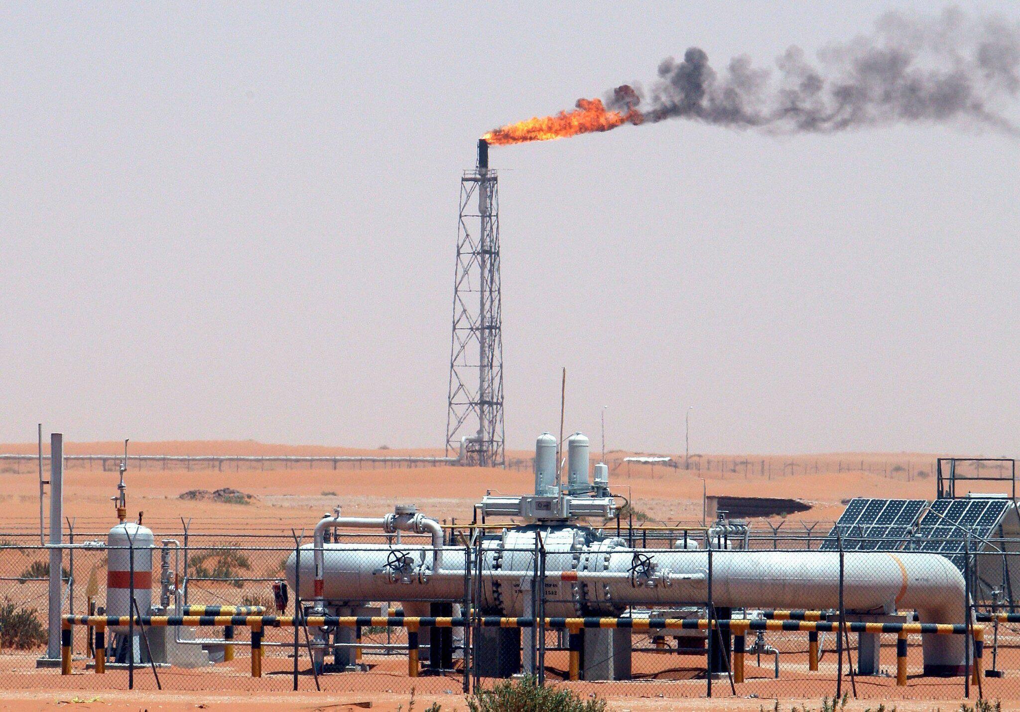Bild zu Ölförderung in Saudi-Arabien