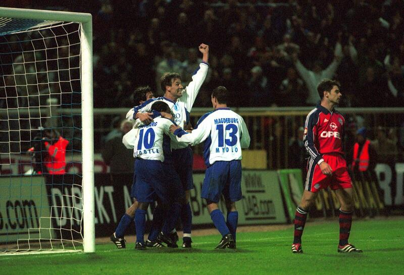Bild zu 3:5 (n.E.) gegen den 1.FC Magdeburg